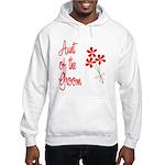 Bouquet Groom's Aunt Hooded Sweatshirt