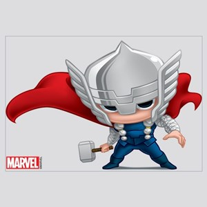 Thor Stylized Wall Art