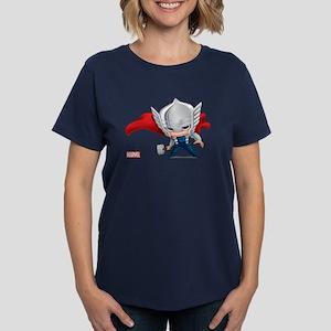Thor Stylized Women's Dark T-Shirt
