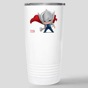 Thor Stylized Stainless Steel Travel Mug