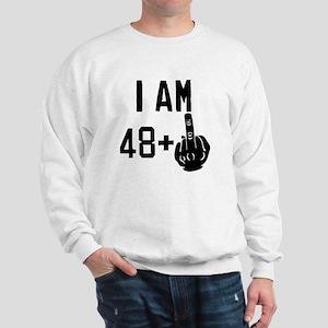 Middle Finger 49th Birthday Sweatshirt