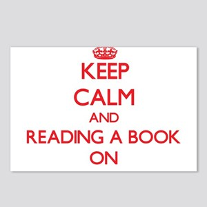Keep Calm and Reading A B Postcards (Package of 8)