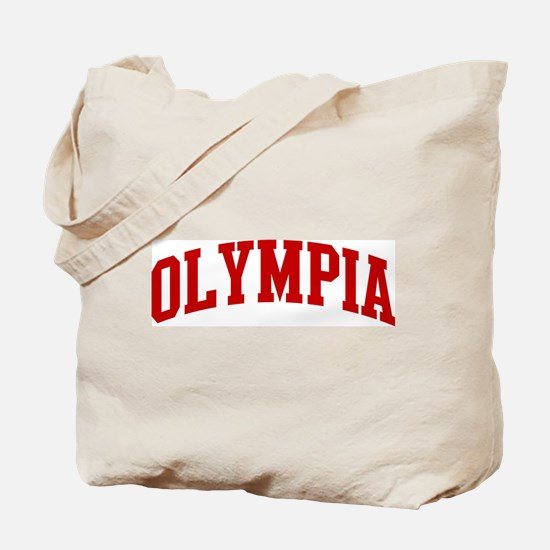 OLYMPIA (red) Tote Bag