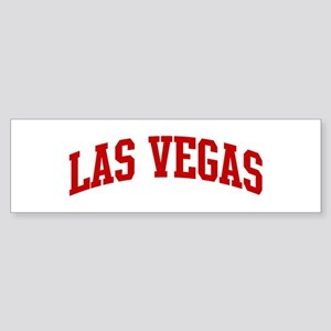 LAS VEGAS (red) Bumper Sticker