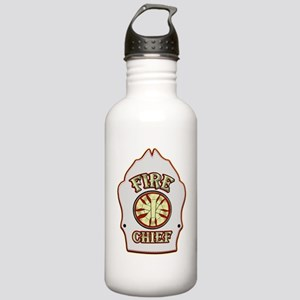 Fire chief helmet shie Stainless Water Bottle 1.0L