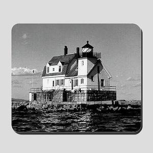 Rockland Harbor Breakwater Lighthouse Mousepad