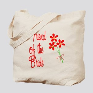 Bouquet Bride's Friend Tote Bag