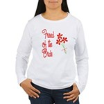 Bouquet Bride's Friend Women's Long Sleeve T-Shirt