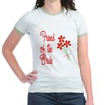 Bouquet Bride's Friend Jr. Ringer T-Shirt