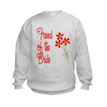 Bouquet Bride's Friend Kids Sweatshirt