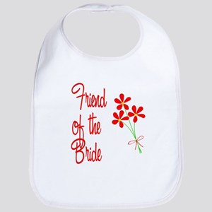 Bouquet Bride's Friend Bib