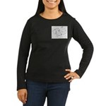 Tricia the Indian Elephant Women's Long Sleeve Dar