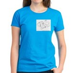 Tricia the Indian Elephant Women's Dark T-Shirt