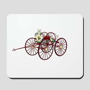 Hose cart drawing 2 Mousepad