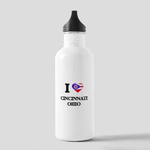 I love Cincinnati Ohio Stainless Water Bottle 1.0L
