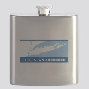 Fire Island - Long Island. Flask