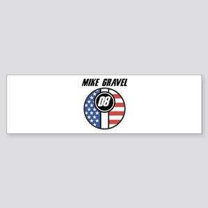 Mike Gravel 08 Bumper Sticker