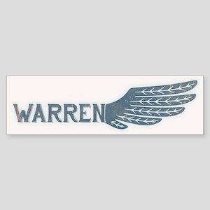 Warren Wing Sticker (Bumper)