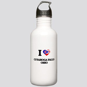 I love Cuyahoga Falls Stainless Water Bottle 1.0L