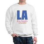 Los Angeles Is Fantastic Sweatshirt (white)