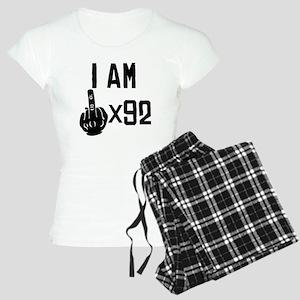 I Am Middle Finger Times 92 Pajamas