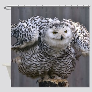 Magnificent OWL Shower Curtain