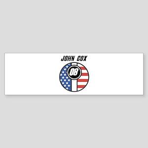 John Cox 08 Bumper Sticker