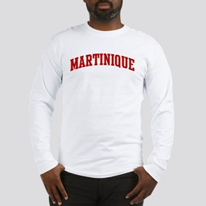 MARTINIQUE (red) Long Sleeve T-Shirt