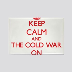 Keep Calm and The Cold War ON Magnets