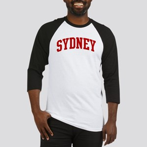 SYDNEY (red) Baseball Jersey