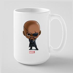 Nick Fury Stylized Large Mug