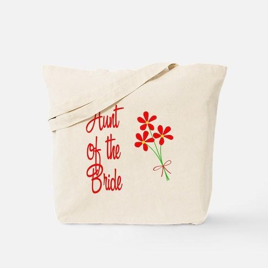 Bouquet Bride's Aunt Tote Bag