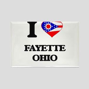 I love Fayette Ohio Magnets