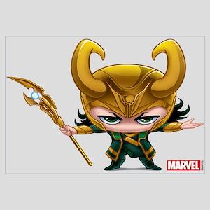 Loki Stylized Wall Art