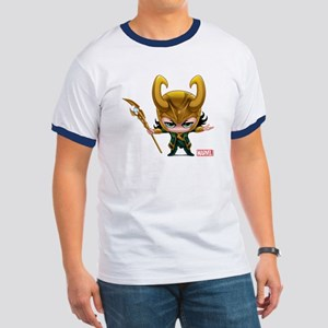 Loki Stylized Ringer T