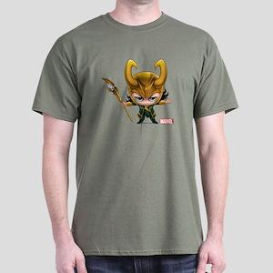 Loki Stylized Dark T-Shirt
