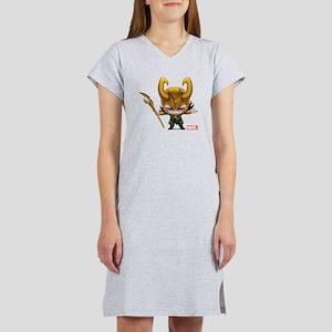 Loki Stylized Women's Nightshirt