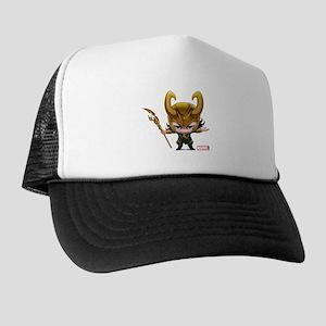 Loki Stylized Trucker Hat