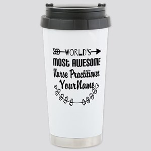 World's Most Awesome N Stainless Steel Travel Mug