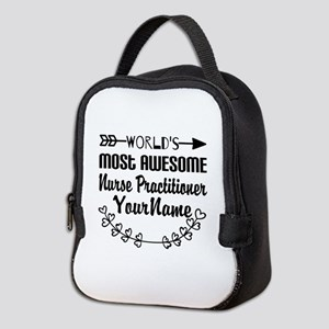 World's Most Awesome Nurse Pra Neoprene Lunch Bag