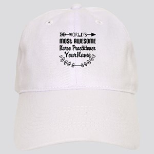 World's Most Awesome Nurse Practitioner Cap