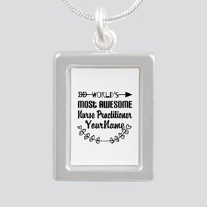 World's Most Awesome Nu Silver Portrait Necklace