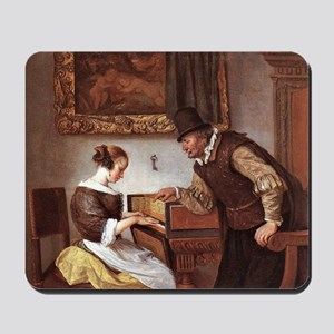 The Harpsichord Lesson Mousepad