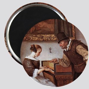The Harpsichord Lesson Magnet