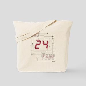 24 Real Time Tote Bag