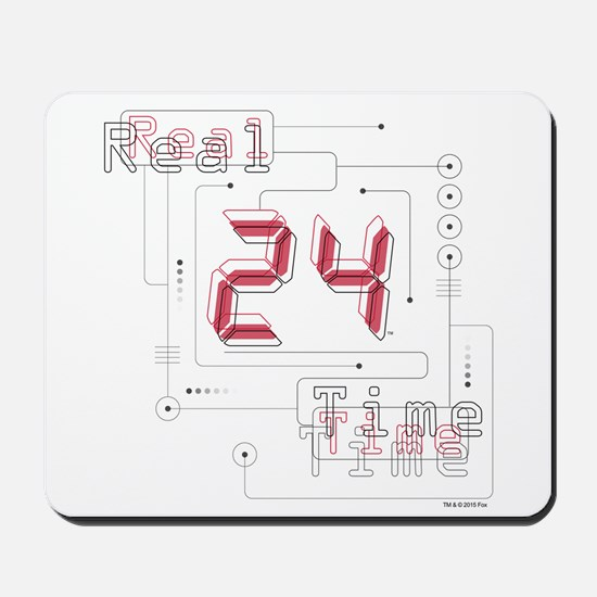 24 Real Time Mousepad