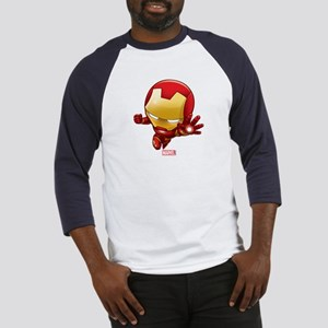 Iron Man Stylized 2 Baseball Jersey