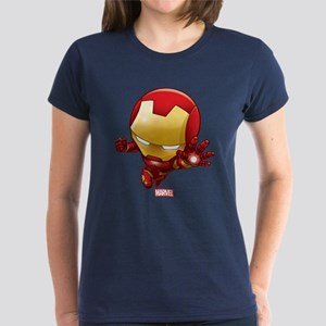 Iron Man Stylized 2 Women's Dark T-Shirt