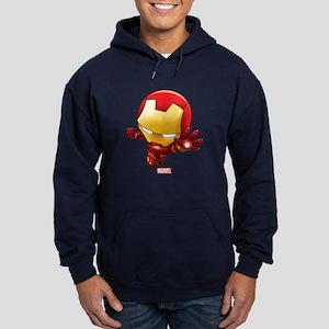 Iron Man Stylized 2 Hoodie (dark)
