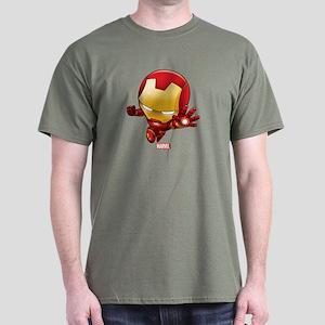 Iron Man Stylized 2 Dark T-Shirt